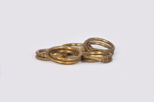 Anillo Vueltas - Diurna Metal Jewelry