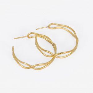 Aro Cruzado - Diurna Metal Jewelry