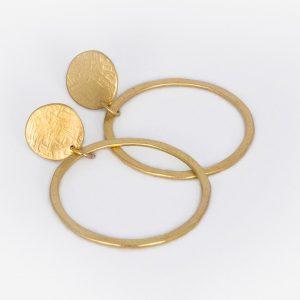 Círculo con Aro - Diurna Metal Jewelry
