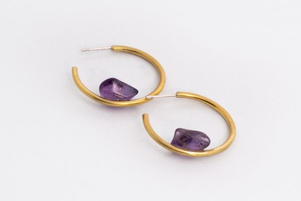 Equilibrio Amatista - Diurna Metal Jewelry