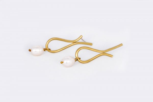 Lágrima más Perla - Diurna Metal Jewelry
